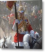 A British Life Guard Of The Household Metal Print by Andrew Chittock
