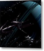A Chartered Private Corvette Metal Print by Brian Christensen