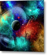A Colorful Part Of Our Galaxy Metal Print by Mark Stevenson