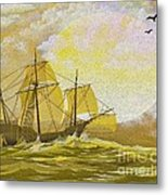 A Day At Sea Metal Print by Cheryl Young