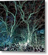 A Ghost Story Told On March Road Metal Print by Louis Nugent