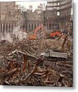 A Month After The Terrorist Attacks Metal Print by Everett