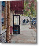 A Morning Cup Metal Print by Amy Caltry