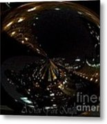 A New York Knight Metal Print by Laurence Oliver