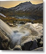 A Small Creek Running Metal Print by Arild Heitmann