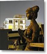 A Trashed Sculpture Metal Print by Sumit Mehndiratta