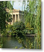A View Of The Parthenon 1 Metal Print by Douglas Barnett