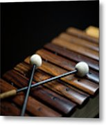 A Xylophone Metal Print by Studio Blond