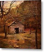 Abandoned Barn Metal Print by Jai Johnson