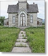 Abandoned Countryside Church Metal Print by Dave & Les Jacobs