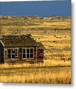 Abandoned Schoolhouse Metal Print by Tam Graff