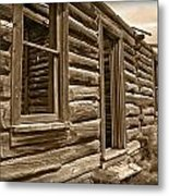 Abandoned Metal Print by Shane Bechler