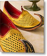 Abarian Shoes Metal Print by Garry Gay