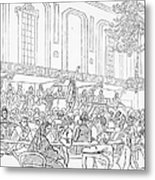 Abolition Cartoon, 1859 Metal Print by Granger