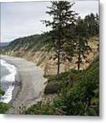 Above Agate Beach Metal Print by Michael Picco
