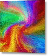 Abstract - Amorphous  Metal Print by Steve Ohlsen