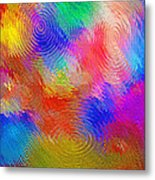 Abstract - Ripples Metal Print by Steve Ohlsen
