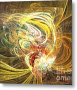 Abstract Art - In Full Bloom Metal Print by Abstract art prints by Sipo
