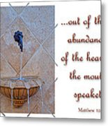 Abundance Of The Heart Metal Print by Larry Bishop