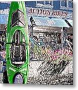 Action Bikes Metal Print by Guy Harnett