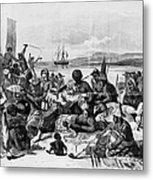 Africa: Slave Trade, C1840 Metal Print by Granger