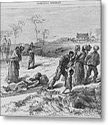 African American Gathering The Dead Metal Print by Everett