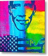 African-american Obama Metal Print by Tony B Conscious
