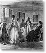African American Students Metal Print by Everett