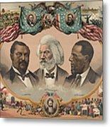 African Americans, C1881 Metal Print by Granger