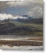 After Rain Metal Print by Henry Moore