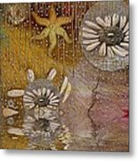 After The Rain Under The Star Metal Print by Pepita Selles