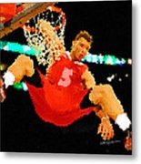 After The Slam Dunk Metal Print by Anthony Caruso