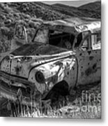 Air Conditioned By Bullet Metal Print by Bob Christopher