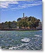 Alcatraz Island San Francisco Metal Print by Garry Gay