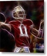 Alex Smith - 49ers Quarterback Metal Print by Paul Ward