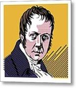 Alexander Von Humboldt, German Naturalist Metal Print by Smetek