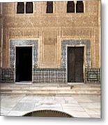 Alhambra Inner Courtyard Metal Print by Jane Rix