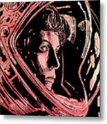 Alien Sigourney Weaver Metal Print by Giuseppe Cristiano