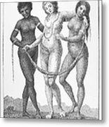 Allegory: Slave Trade, 1796 Metal Print by Granger
