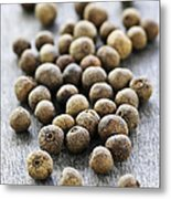 Allspice Berries Metal Print by Elena Elisseeva