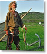 Along The Viking Trail Metal Print by Tony Beck