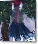 Althea Awaits Her Ca 125 Report Metal Print by Annette McElhiney