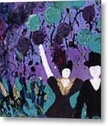 Althea Dances With Ned Metal Print by Annette McElhiney