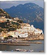 Amalfi Metal Print by Pat Cannon