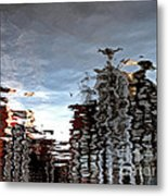 Amsterdam Reflections Metal Print by Andy Prendy
