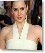 Amy Adams At Arrivals For 17th Annual Metal Print by Everett