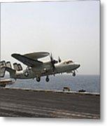 An E-2c Hawkeye Takes Metal Print by Stocktrek Images