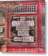 And The Number Is Still Rising... Metal Print by David Bearden