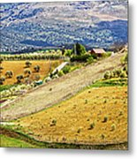 Andalusia Countryside Panorama Metal Print by Artur Bogacki
