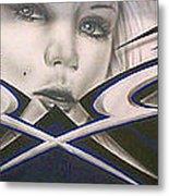 Angel Eyes Metal Print by Mike Royal